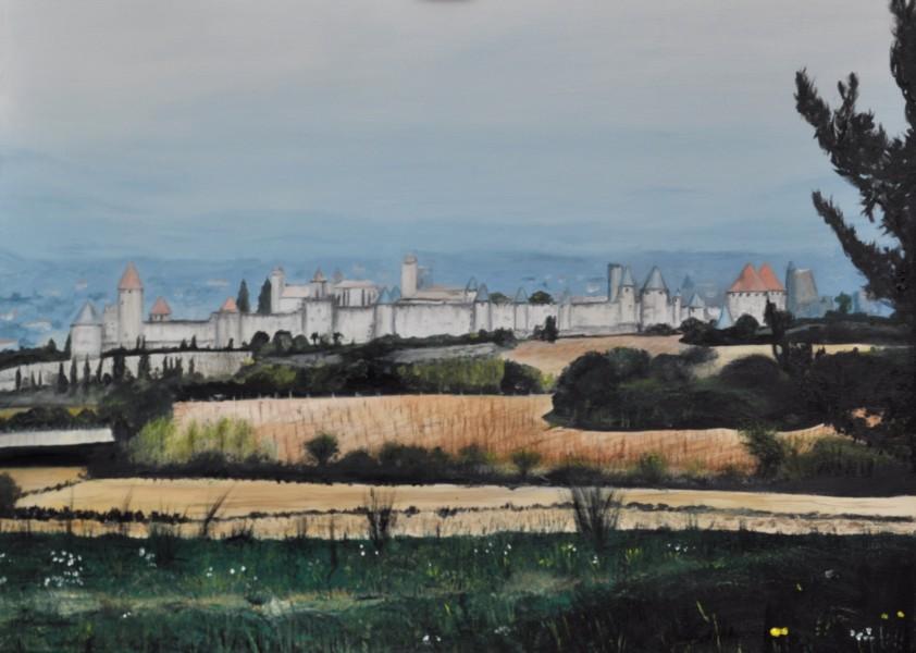 Carcassonne, Gemälde