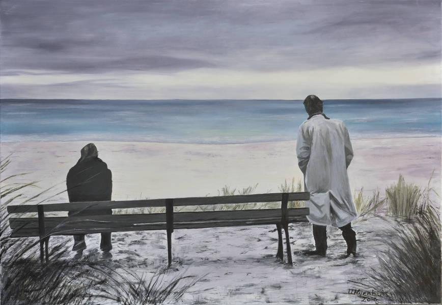 Heute kein Sommer, Gemälde